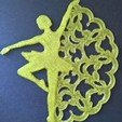 Download free STL file Dancing snowflakes • Design to 3D print, TeonaBoborodea