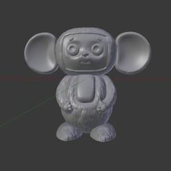 aOSWw271OOY.jpg Download STL file Cheburashka • 3D printer model, trinity760