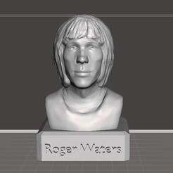 Download 3D printer templates Roger Waters, trinity760