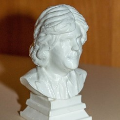 _HxPjgsLjos.jpg Download STL file Bust of James May • Template to 3D print, trinity760