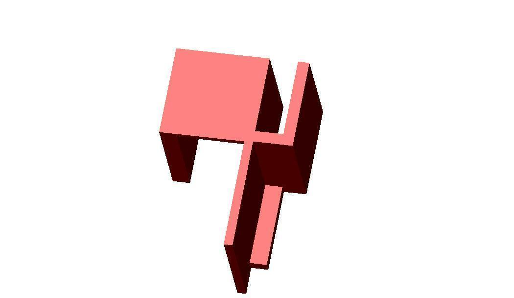 guide porte de pacard coulissant.jpg Download STL file sliding cupboard door guide • 3D printing template, frednad
