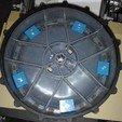 robomow track width crampon wheel STL file, frednad