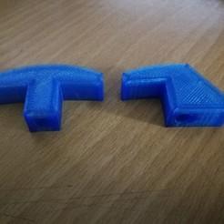 3D print model photovoltaic panel hook, frednad