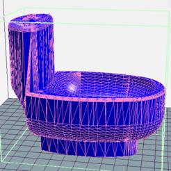 3D printer models Toilet dolls, Davy