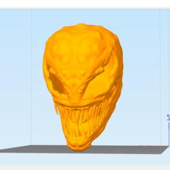 3D printer files Carnage Mask Marvel costume, YanLebedev