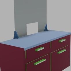 Impresiones 3D Soporte de protección de plexiglás, yannick44