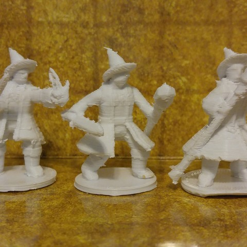 28mm Scale Miniatures: General Wizard
