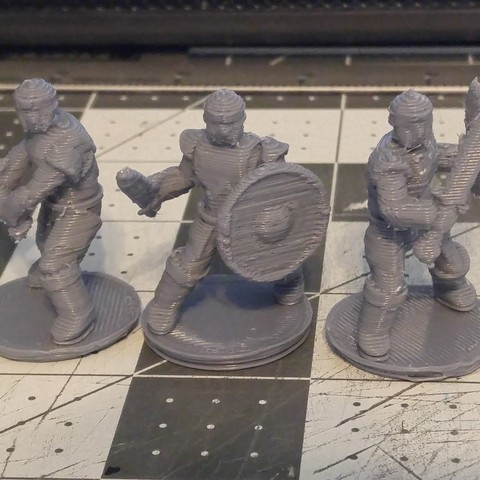 Download 3D printing files 28mm Scale Miniatures: General Fighter, liemprefon