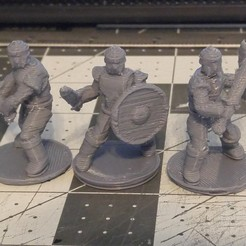 3d print files 28mm Scale Miniatures: General Fighter, liemprefon