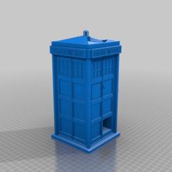 9b6dfcdb8feadefe1c2c249d769041a1.png Descargar archivo STL gratis Torre de dados de la TARDIS • Objeto para impresora 3D, MaxPoindexter