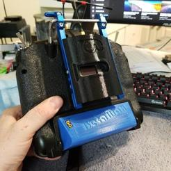 Download free 3D printing templates Taranis Kickstand Crossfire Plate, MaxPoindexter