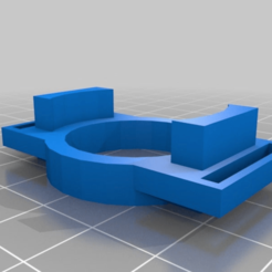 Download free 3D printing files Xiaomi Yi Lens Protector With Strap Holes, MaxPoindexter