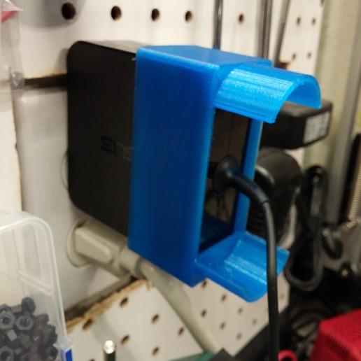 0129161722a.jpg Télécharger fichier STL gratuit Enrouleur de câble pour chargeur d'ordinateur portable ASUS • Plan pour imprimante 3D, MaxPoindexter