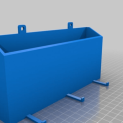 Download free 3D print files Glue Storage Shelf with Hooks, MaxPoindexter