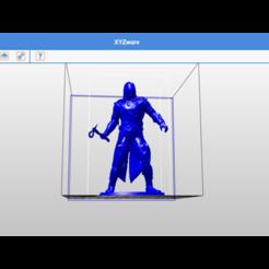 Impresiones 3D credo del asesino en miniatura, skylase