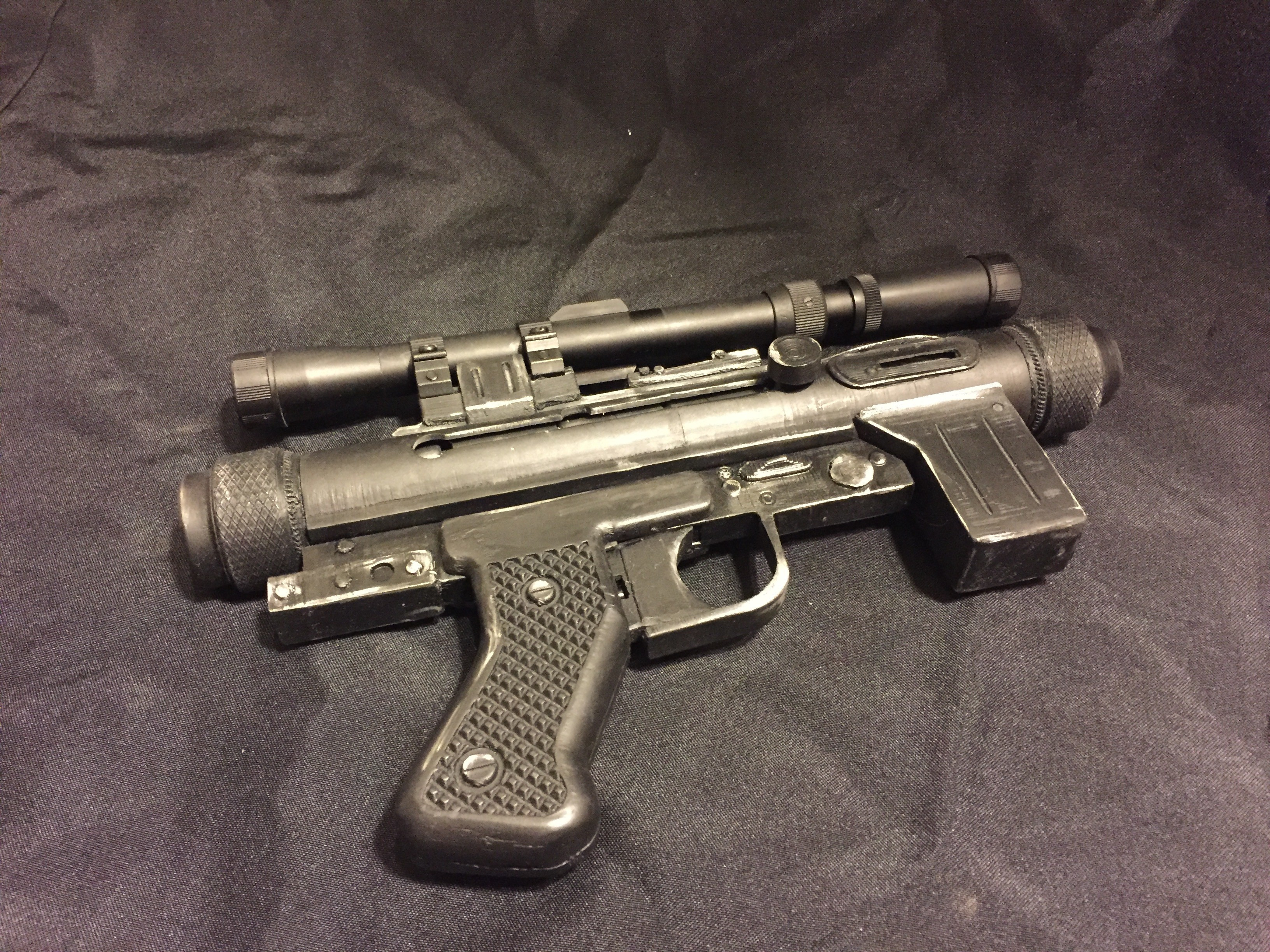IMG_7362.JPG Download STL file Storm Trooper Blastech SE-14R Blaster Prop • 3D print model, McClaryDesign