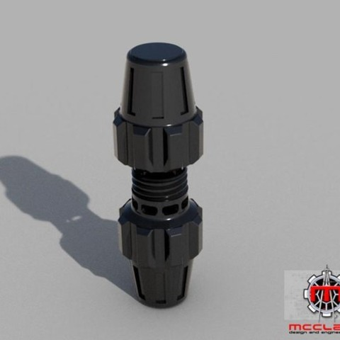 Download STL file Star Wars Fragmentation Grenade prop • 3D printable template, McClaryDesign