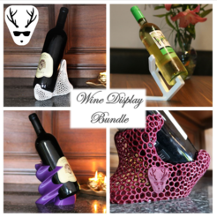 Download 3D printer files Ultimate Wine Display Bundle, The_Austrian_Maker