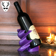 Diseños 3D Expositor de vinos Twisted, The_Austrian_Maker