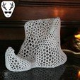Download 3D printer designs Wine Display Voronoi, The_Austrian_Maker