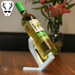 Download 3D model Wine Display Minimalist, The_Austrian_Maker