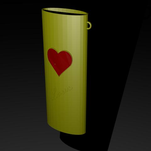 Download STL file lighter port • 3D printer object, dullahan