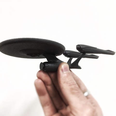IMG_0015.JPG Download free STL file Star Trek USS Enterprise Collection • 3D printable design, Solid_Alexei
