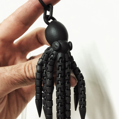 Capture d'écran 2017-02-23 à 11.26.29.png Download free STL file Ball-joint articulated octopus keyring remix • 3D printer model, Solid_Alexei