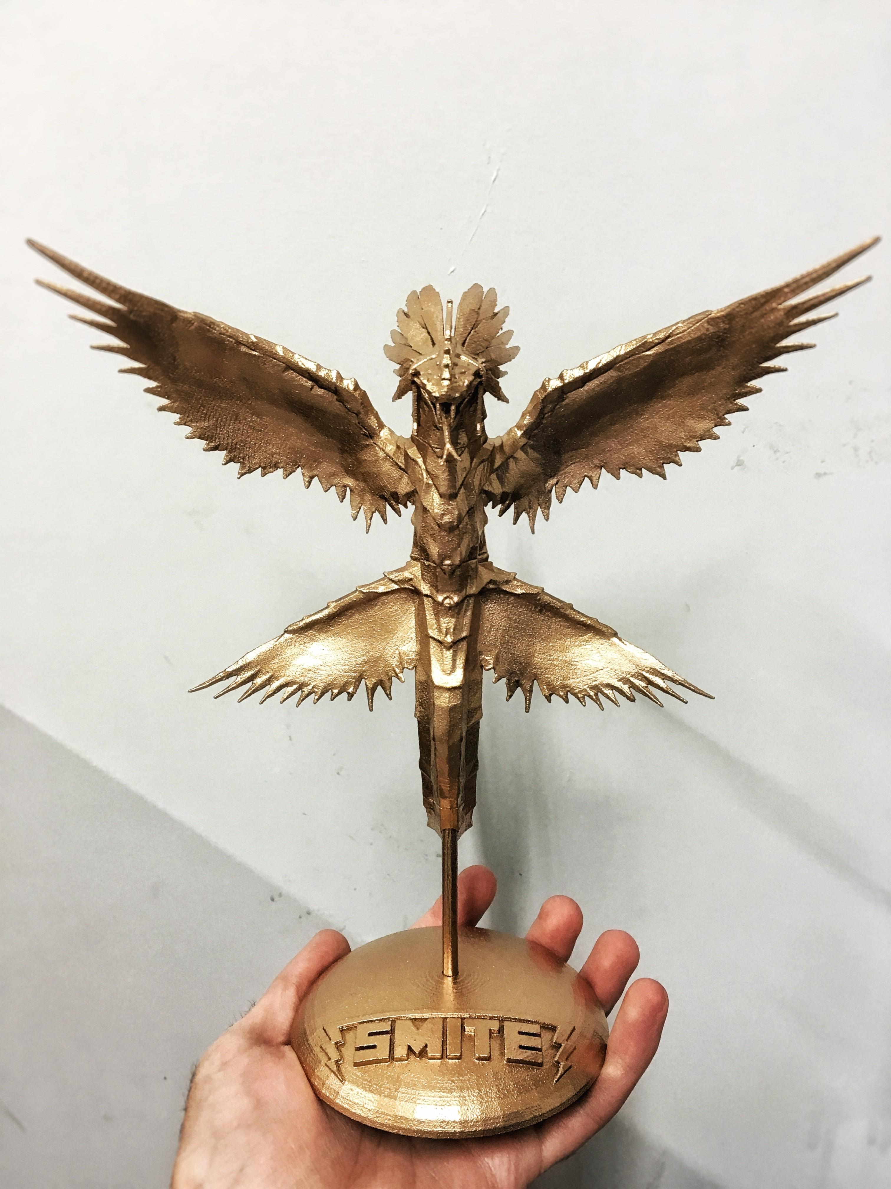 image.jpeg Download free STL file SMITE Kukulkan Statue • 3D printable object, Solid_Alexei