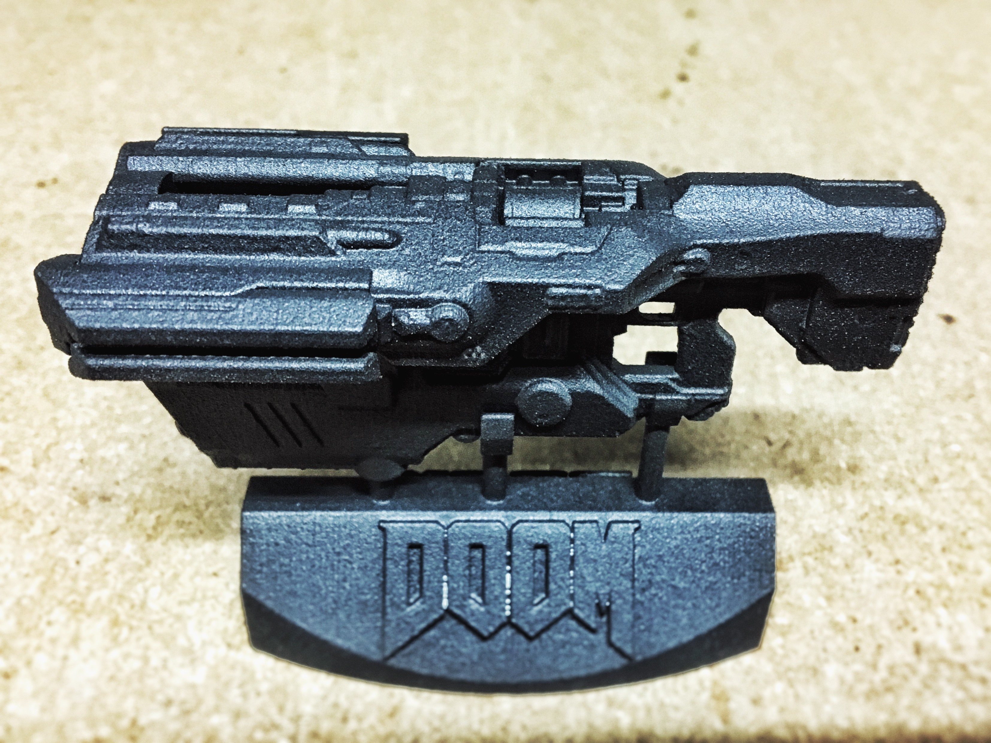 image-5.jpeg Download free STL file Doom (2016) BFG9000 gun & display stand • 3D print design, Solid_Alexei