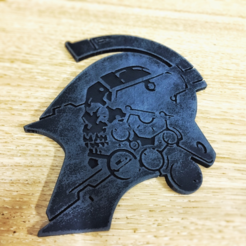 Free 3D print files Kojima Productions Logo, Solid_Alexei
