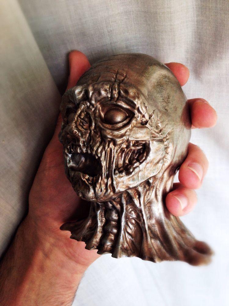 Photo_24-04-2016_16_33_05.jpg Télécharger fichier STL gratuit Sculpture Zombie Haute Qualité • Modèle pour impression 3D, Solid_Alexei