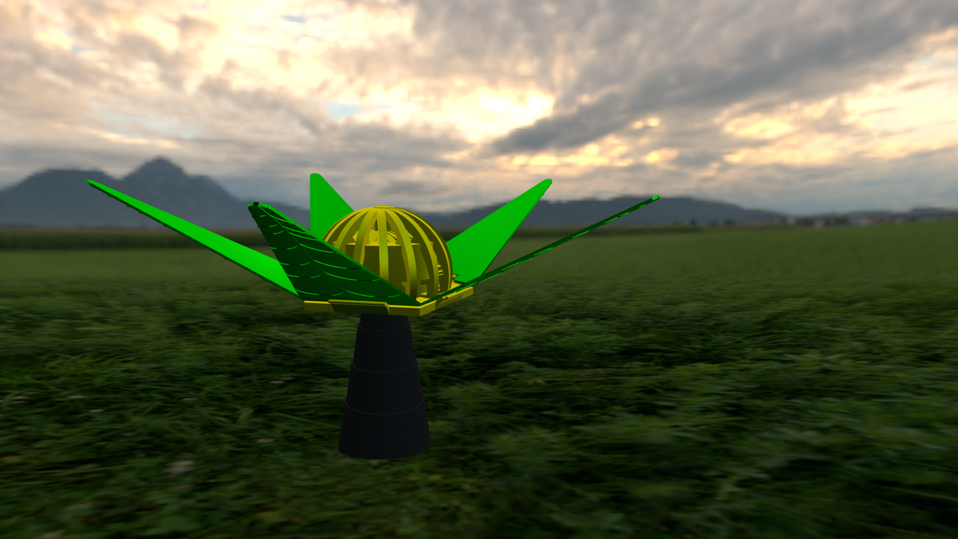 image-4.png Download free STL file Flower # 3DSPIRIT • 3D printer object, Quentin1997
