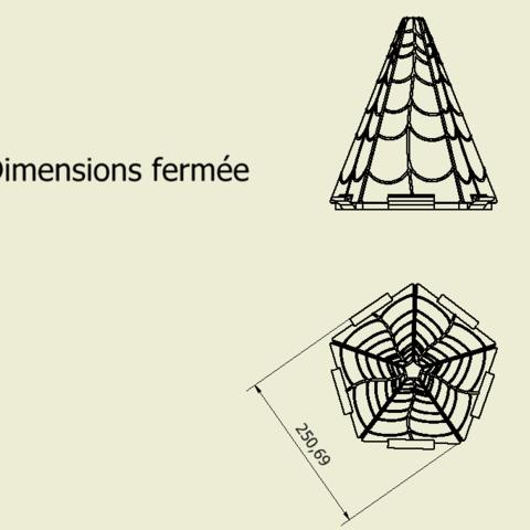fermé.PNG Download free STL file Flower # 3DSPIRIT • 3D printer object, Quentin1997