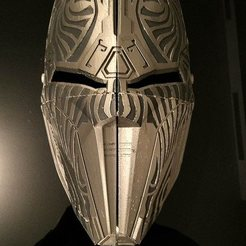 Sith Acolyte Mask STL file, Elvalian