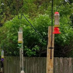 Télécharger modèle 3D Mangeoire pour oiseaux de fusée, WiscoKid