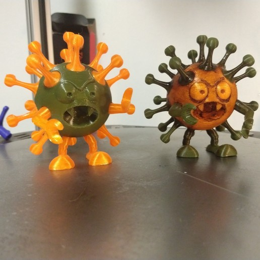 Download free STL file CoviDisNeuf • 3D printing design, Luckyco