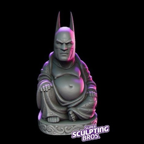 Download free 3D printer model another batman buddha, prozer