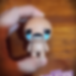 """Download free 3D printer designs isaac from """"the binding of isaac"""" game, prozer"""