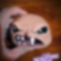 """Download free STL file monstro from """"the binding of isaac"""" game • 3D print template, prozer"""