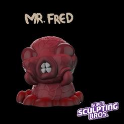 Free 3d print files Mr. Fred, prozer