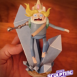 Download free STL file Ice Finn from adventure time • 3D printing object, prozer