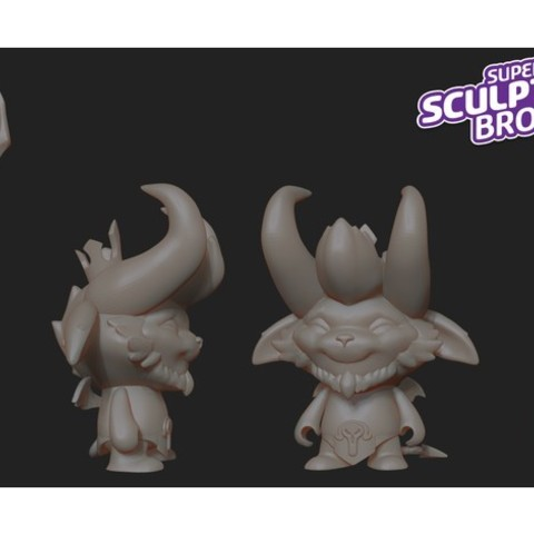 Download free STL file little devil teemo (urban toy style) from league of legends • 3D printing template, prozer