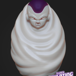Free 3D model frieza in hell cacoon, prozer