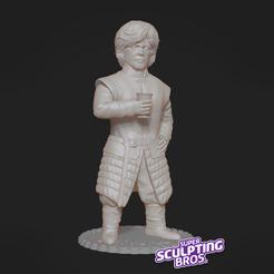 Download free 3D printer templates Tyrion Lannister (Peter Dinklage), prozer