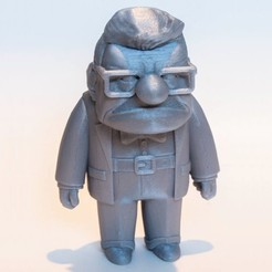 up.jpg Download free STL file carl from the up movie • 3D printer object, prozer