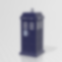 Tardis ~ Brut.stl Download free STL file Doctor Who Tardis • 3D print model, LuliasMartch