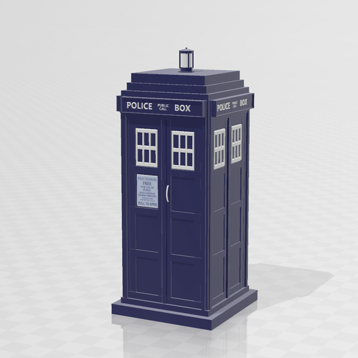 Capture2.PNG Download free STL file Doctor Who Tardis • 3D print model, LuliasMartch