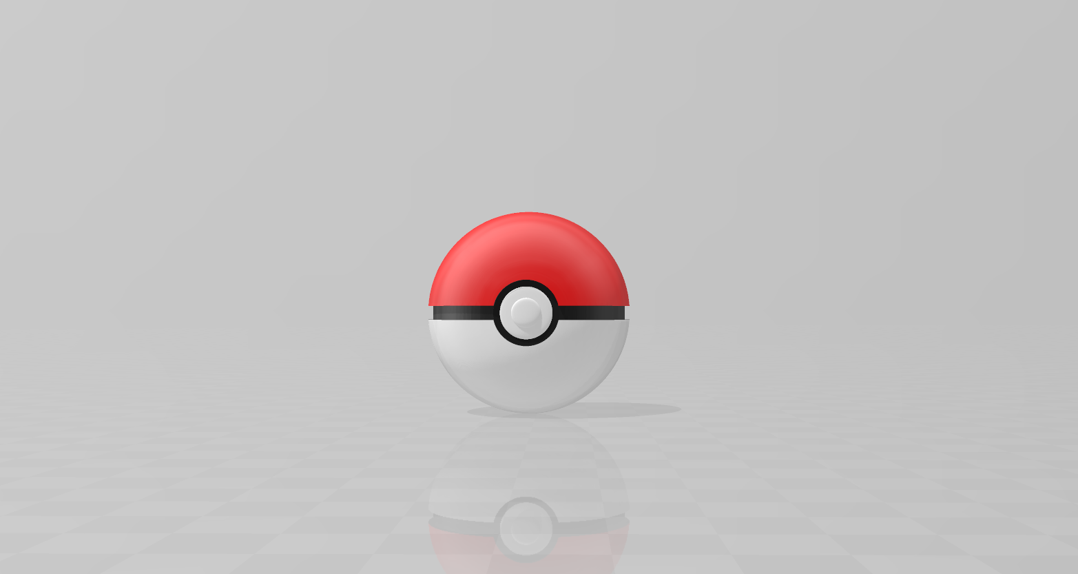 Capture.PNG Download free STL file CLASSIC PokeBall • Model to 3D print, LuliasMartch