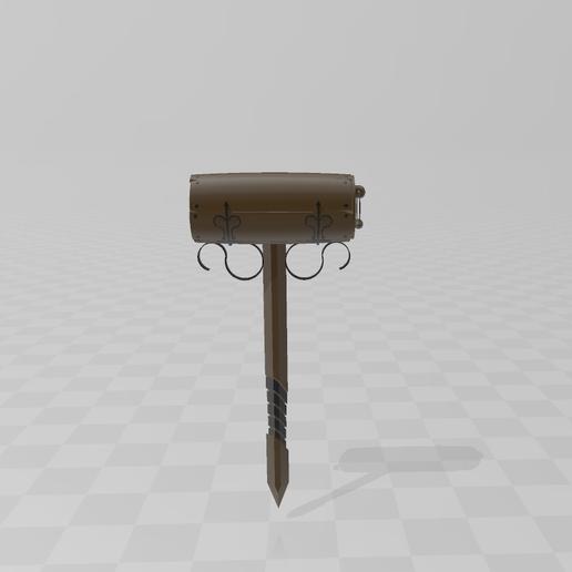 Download free 3D printing models Bilbo mailbox, LuliasMartch